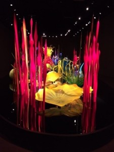 Chihuly Garden Sculpture in Seattle